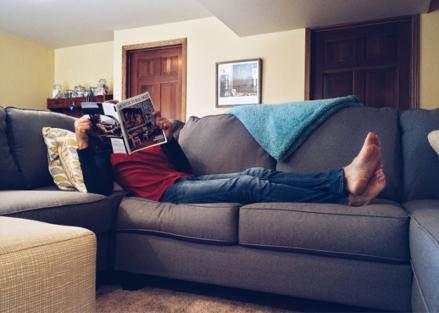 Sofa - die Komfortzone